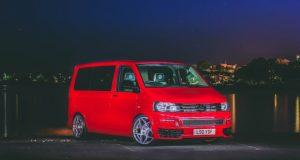 rød varevogn