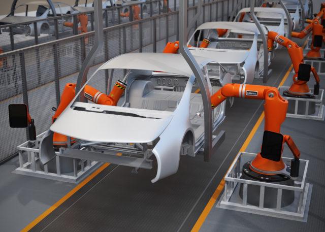 Robotter og biler